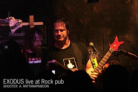 PANTIP COM : C4162815 EXODUS LIVE IN BANGKOK [Rock & Roll]