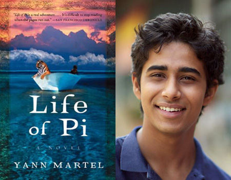 2012 2013 for Life of pi book characters