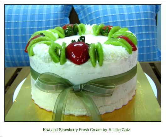 Strawberry Fresh Cream Cake Pantip