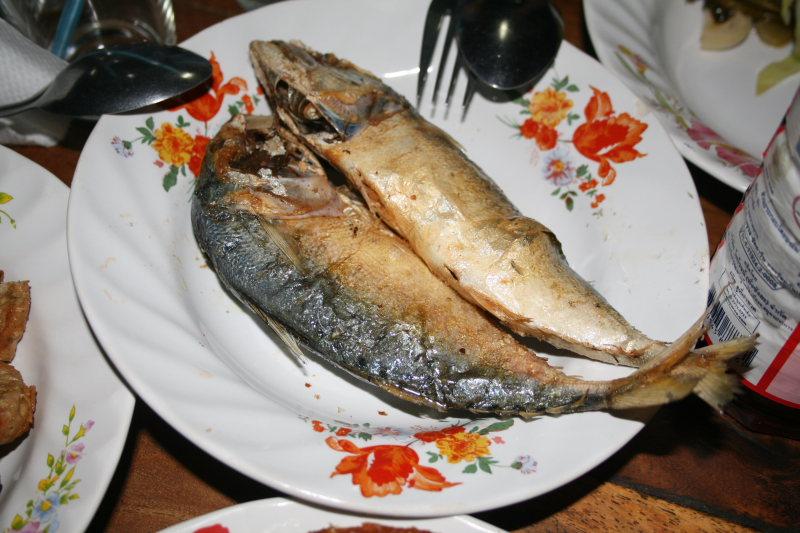 ปลาทูทอด ร้านไก่ทอดเที่ยงคืน