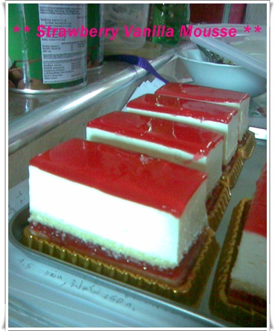 Strawberry Mousse Cake Pantip