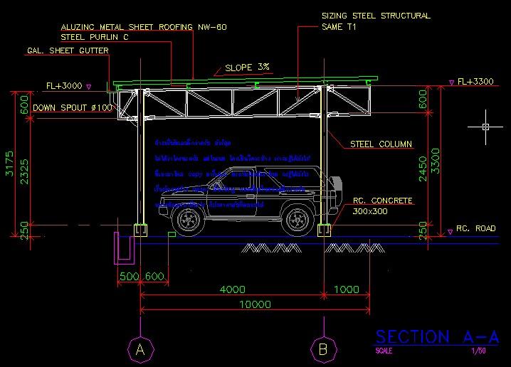 Pantip Com R11563770 รบกวนวิศว ช่วยออกแบบ โครงเหล็กโรง