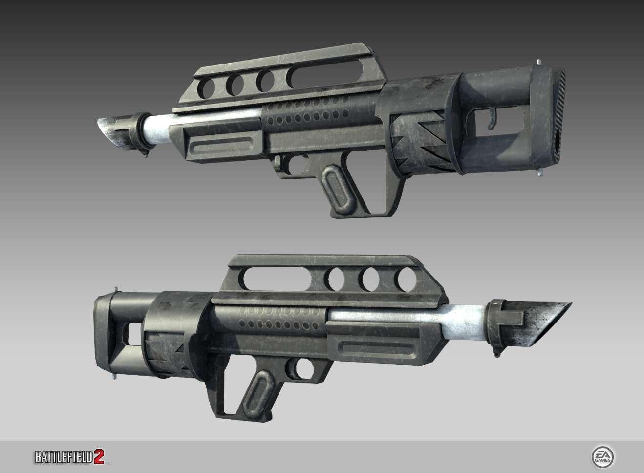 Jackhammer Waffe