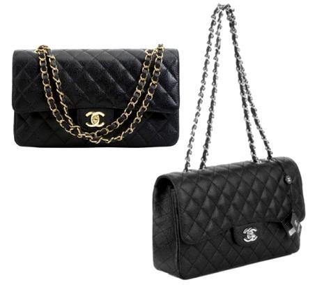 Chanel Classic com แฟชั่น โซ่ทอง Pantip Q11516852 โซ่เงินดีคะ หรือ